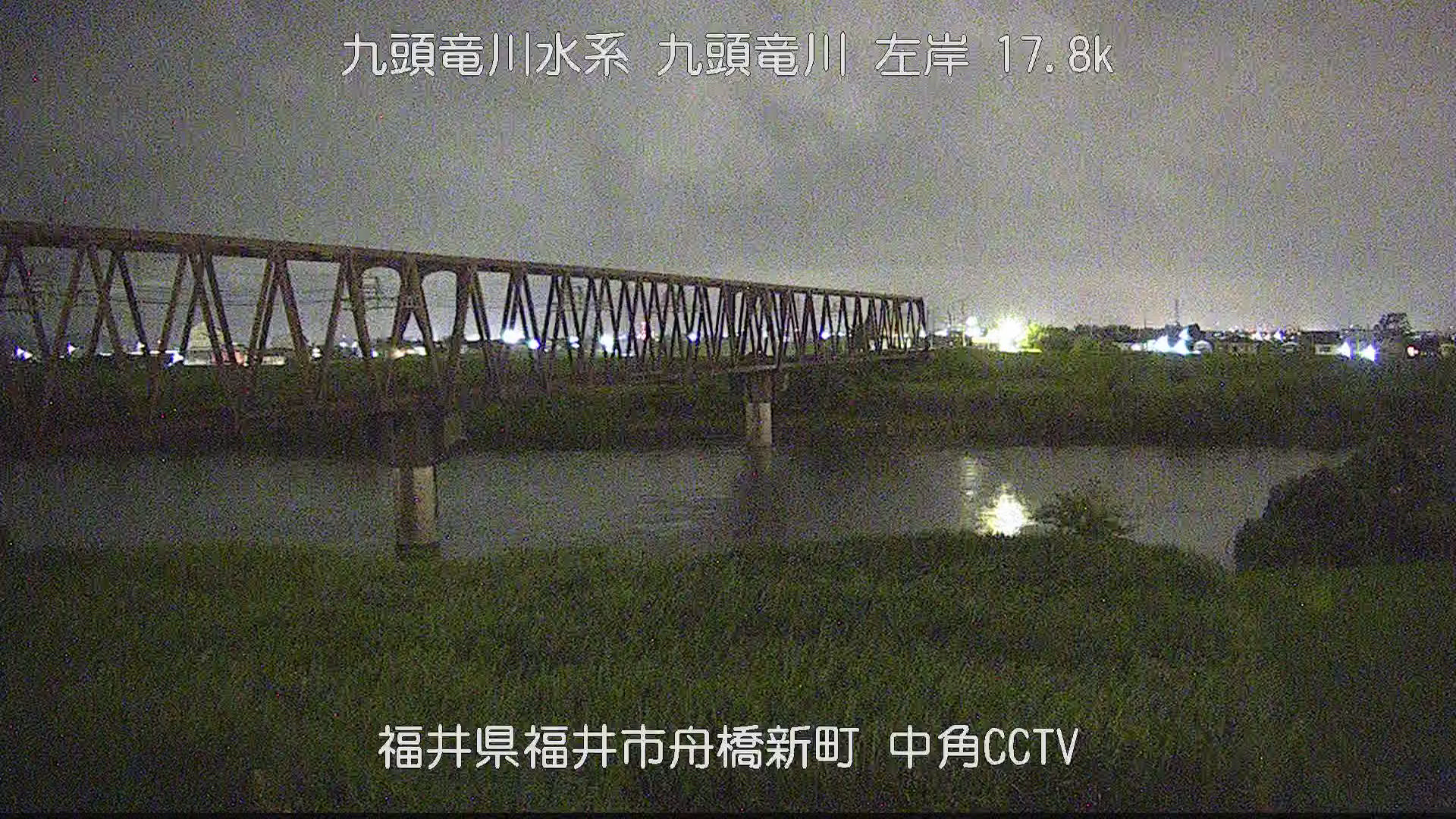 九頭竜川 福井市中角付近