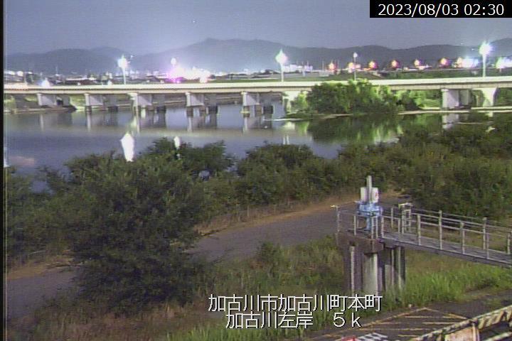 本町の現在の河川状況