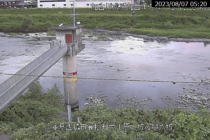 板波の現在の河川状況