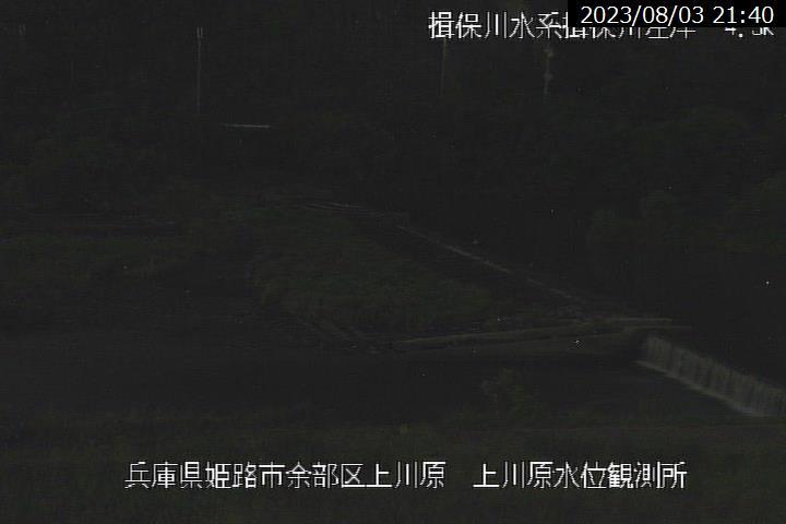 上川原の現在の河川状況