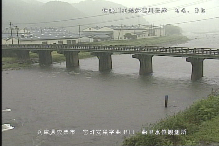 曲里の現在の河川状況